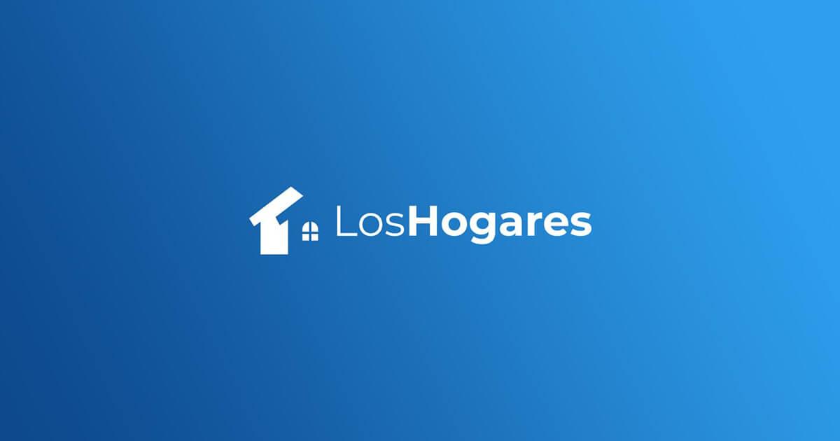 Imagen en blanco con el logo de Los Hogares